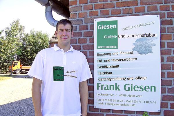 Frank Giesen Garten- und Landschaftsbau